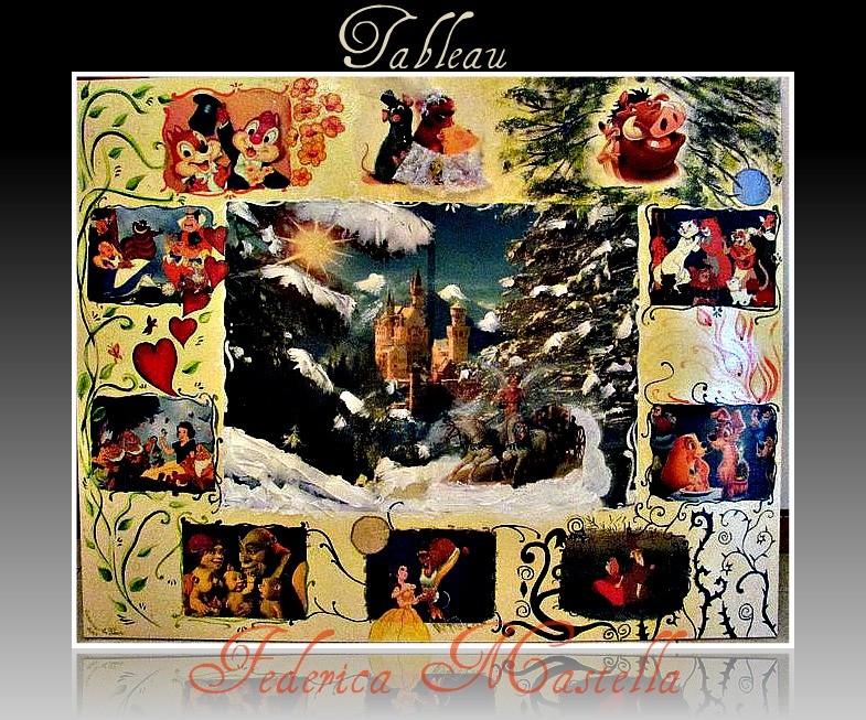 Il tableaux di federica alyria wed